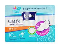 Гигиенические прокладки Bella Classic nova Komfort drainette (3 к.) - 10 шт.