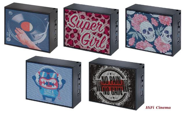 Mac Audio BT Style 1000 DJ Super Girl Skully Monster NPNG
