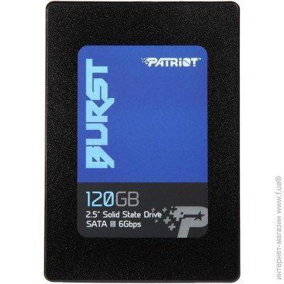 """Твердотельный накопитель SSD Patriot Memory Burst PBU120GS25SSDR 2.5"""" 120Gb"""