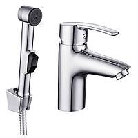 Смеситель для раковины IMPRESE HORAK набор для биде (смеситель + гигиенич душ с держателем + шланг 1,5м) 🇨🇿