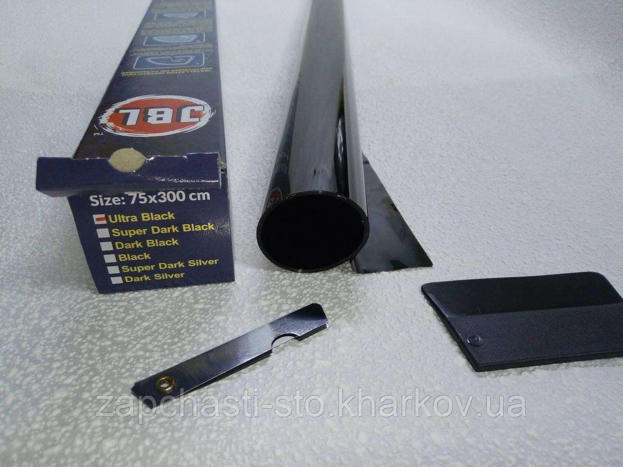 Тонировочная пленка 2% JBL Ultra Black ультра черная 75Х300