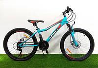 """Подростковый горный велосипед Azimut  Forest 26 """"/ 13""""(Оригинальный SHIMANO)"""
