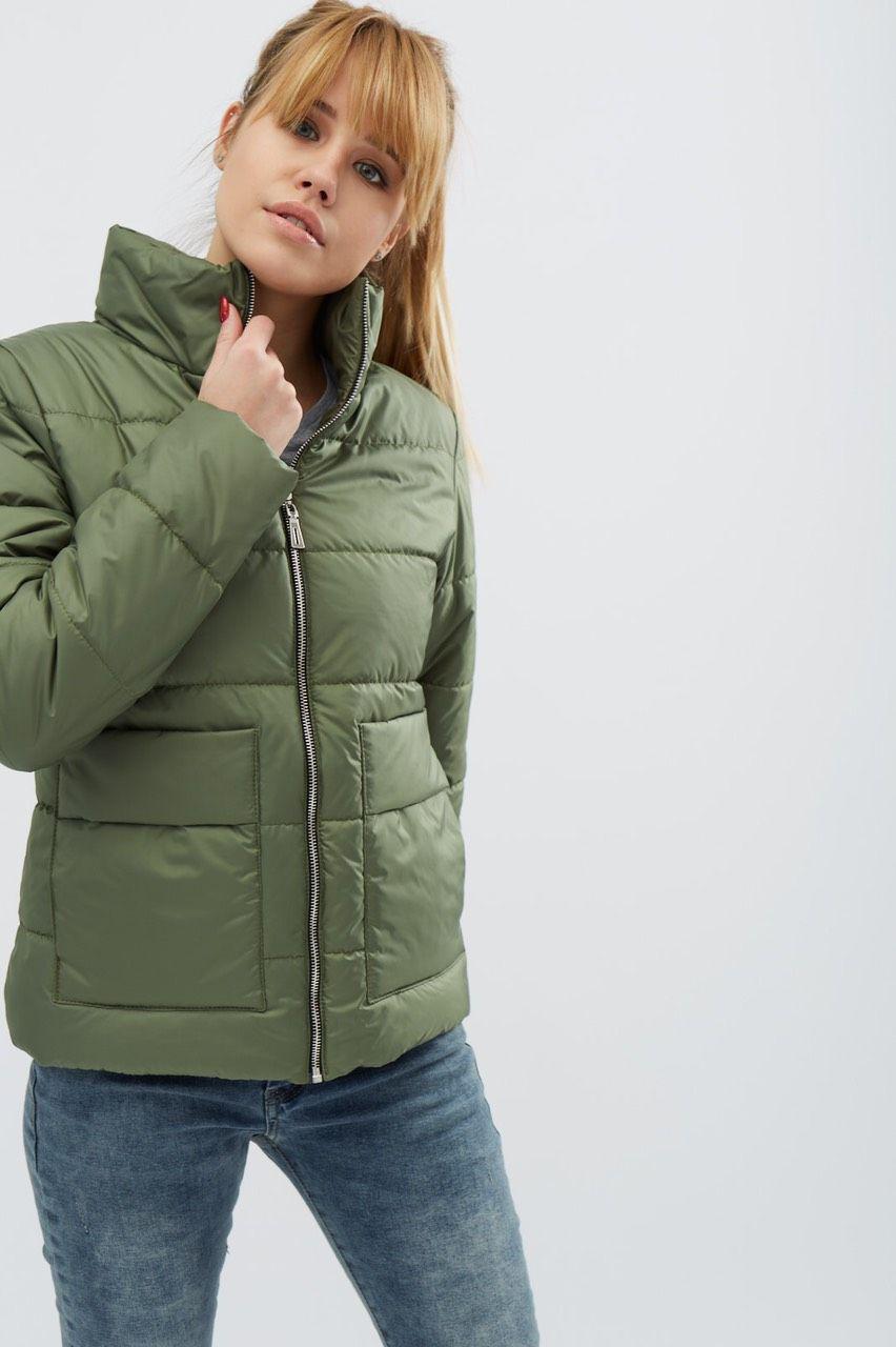 Демисезонная женская  курточка К 0035 с 05
