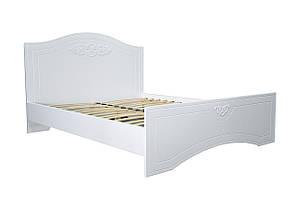 Кровать Неман Анжелика белый супермат