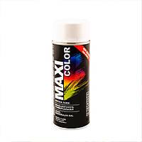 Аэрозольная краска Maxi Color RAL 9010 Белый 400 мл