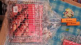 Решітка-гриль ZAUBERG (57x32x25.5x5.5 см) з ручкою