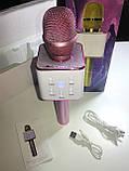 Микрофон караоке Q7 (Bluetooth, USB, MP3, AUX), фото 3