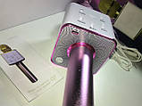 Микрофон караоке Q7 (Bluetooth, USB, MP3, AUX), фото 5