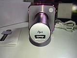 Микрофон караоке Q7 (Bluetooth, USB, MP3, AUX), фото 6