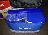 Ланчбокс (термос пищевой) с сумкой A-PLUS 1670, 500 мл + палочки, фото 5