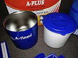 Ланчбокс (термос пищевой) с сумкой A-PLUS 1670, 500 мл + палочки, фото 6