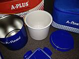 Ланчбокс (термос пищевой) с сумкой A-PLUS 1670, 500 мл + палочки, фото 8