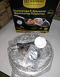 Сковорода с крышкой EDENBERG EB-3344, 20 см (мрамор), фото 7