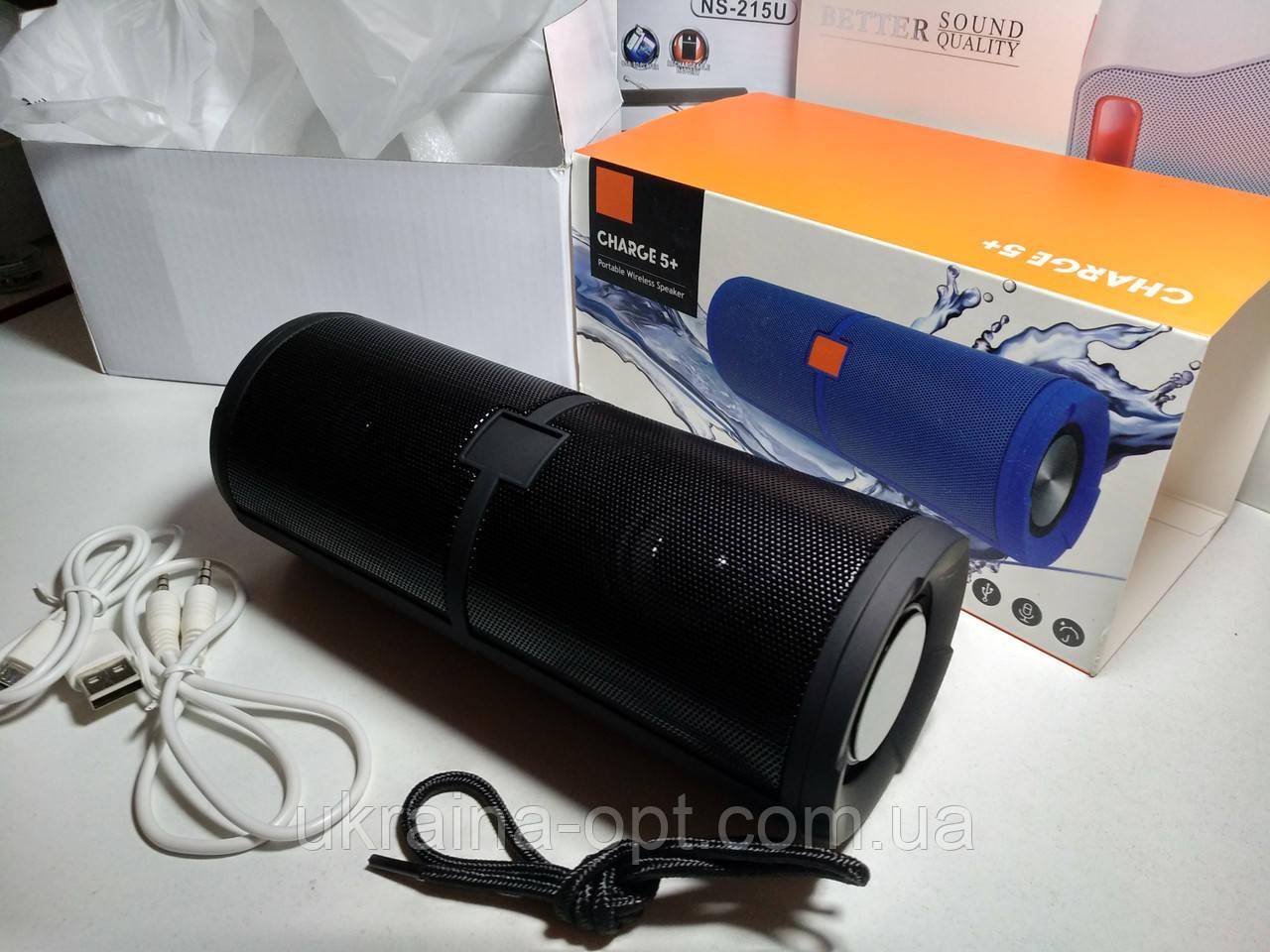 Водонепроницаемая колонка JBL Charge 5+ (Bluetooth, USB)