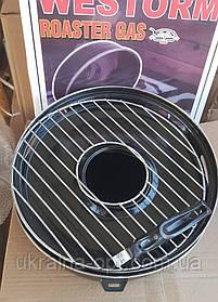 Сковорода гриль-газ з мармуровим покриттям WESTORM RG 32 см