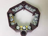 Клеммник 6304-10. Клеммная колодка 5х 4 мм2