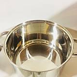Набор посуды из 4 кастрюль с крышками (2.1 / 2.9 / 3.9 / 6.2 л) , фото 3