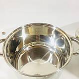 Набор посуды из 4 кастрюль с крышками (2.1 / 2.9 / 3.9 / 6.2 л) , фото 5