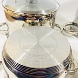 Набор посуды из 4 кастрюль с крышками (2.1 / 2.9 / 3.9 / 6.2 л) , фото 7