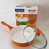Сковорода с керамическим покрытием Размер 26 см. Giakoma G-1018-26