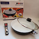 Сковорода Giakoma G-1032 Размер 28 см с антипригарным покрытием, фото 2
