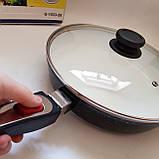 Сковорода Giakoma G-1032 Размер 28 см с антипригарным покрытием, фото 4