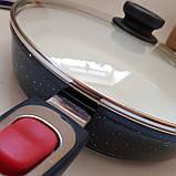 Сковорода Giakoma G-1032 Размер 28 см с антипригарным покрытием, фото 5