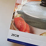 Сковорода Giakoma G-1032 Размер 28 см с антипригарным покрытием, фото 7