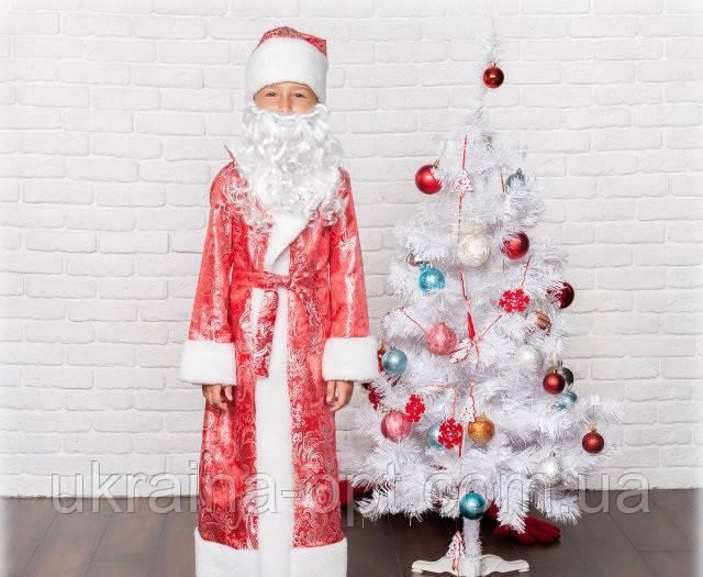 """Детский новогодний костюм """" Дед Мороз """""""