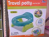Детский горшок дорожный― сиденье 2 в 1 Travel Potty, фото 2