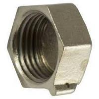 Заглушка латунная Люкс никелированная 25мм ВР ГОСТ 8963