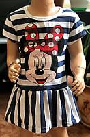 Летнее платье для девочки Минни опт
