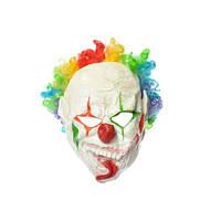 Страшная латексная маска Клоуна с париком