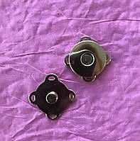 Кнопка магнитная пришивная, 18 мм, цвет золото