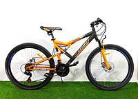 """Подростковый горный велосипед Azimut Scorpion 24""""/17""""(Оригинальный SHIMANO)"""