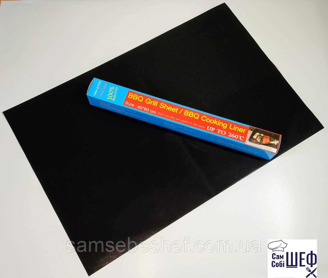 Тефлоновый лист коврик для выпечки и гриля 60х40 см
