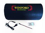 Активний сабвуфер 6 Winford 200W + Bluetooth, фото 4