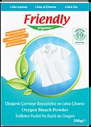 ЭКО Кислородный порошок Friendly organic для удаления пятен 500 мл