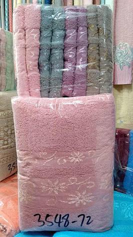 Полотенце лицевое махровое 50*100 см (от 8 шт), фото 2