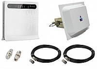 Стационарный 4G комплект Huawei B593s-12, Антенна MIMO MW TECH 1700-2700 МГц