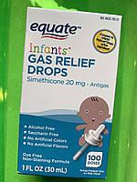 Капли от коликов Equate Infants' Gas Relief Drops от рождения и старше, фото 1
