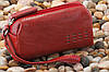 Косметичка женская кожаная Verus Артикул: 307VR красный