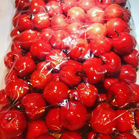 Искусственное яблоко.Муляж красного яблока., фото 2