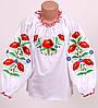 Вышитая блуза для девочек Ольга