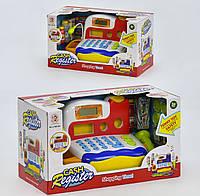 Игровой набор Acor Кассовый аппарат с микрофоном Белый (1155-04)