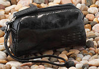 Косметичка женская кожаная Verus Артикул: 307VA черный