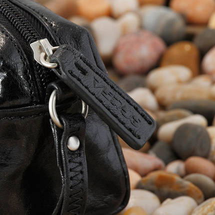 Косметичка женская кожаная Verus Артикул: 307VA черный, фото 2
