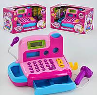 Игровой набор Acor Кассовый аппарат с микрофоном Розовый (1156-04)