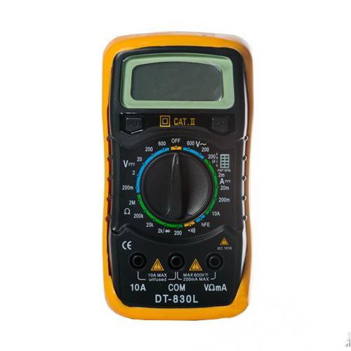 Цифровой профессиональный мультиметр GTM DT-830L