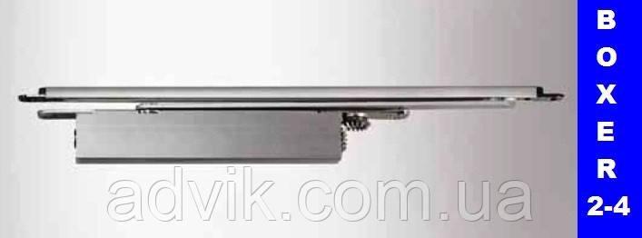 Доводчик скрытого монтажа Geze TS Boxer 2-4 со скользящей тягой